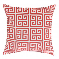 Towers Coral White Cushion - 45x45cm