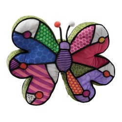 Britto Butterfly Pillow Medium
