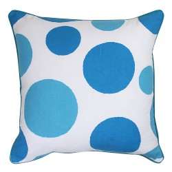 Dots Turquoise Cushion - 45x45cm