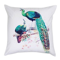 Royal Peacock Cushion 45x45cm