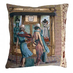 Boutique Tapestry Cushion - 50x50cm