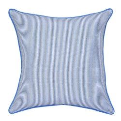 Classic Stripe Blue Cushion - 45x45cm