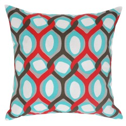 Rivers Rojo Outdoor Cushion - 45x45cm