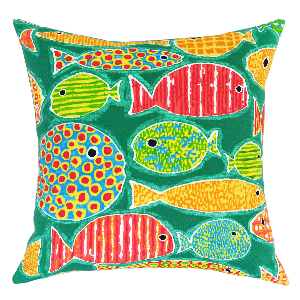 Sunfish Lagoon Outdoor Cushion - 45x45cm