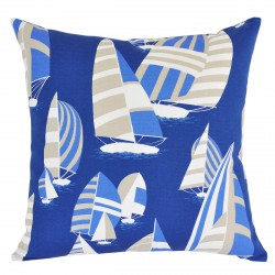 Sails Ahoy Sand Dune Outdoor Cushion - 45x45cm