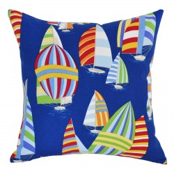 Sails Ahoy Atlantic Outdoor Cushion - 45x45cm