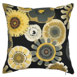 Crosby Ebony Outdoor Cushion 45x45cm