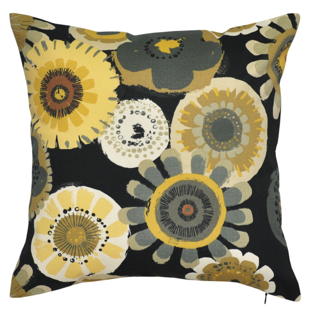 Crosby Ebony Outdoor Cushion - 45x45cm