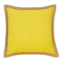 Mornington Linen Yellow Cushion - 50x50cm