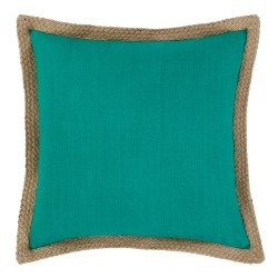 Mornington Linen Emerald Cushion 50x50cm