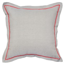 Hampton Coral Cushion - 45x45cm