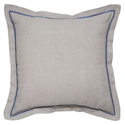Hampton Blue Cushion - 45x45cm