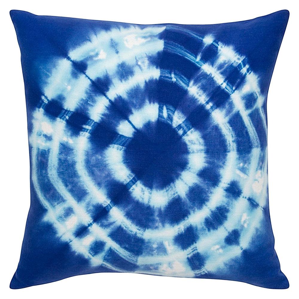 Tie-Dyed Blue Cushion 45x45cm