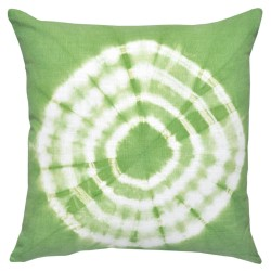 Tie-Dyed Green Cushion - 45x45cm