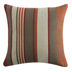 Deco Stripe Ginger Cushion - 50x50cm
