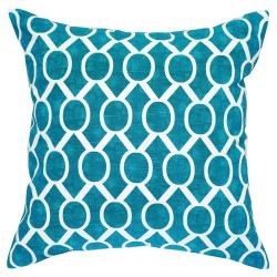 Sydney Slub Aquarius Cushion - 45x45cm