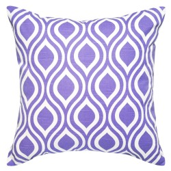 Nicole Slub Thistle Purple Cushion 45x45cm