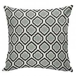 Curtis Cool Grey Cushion - 45x45cm