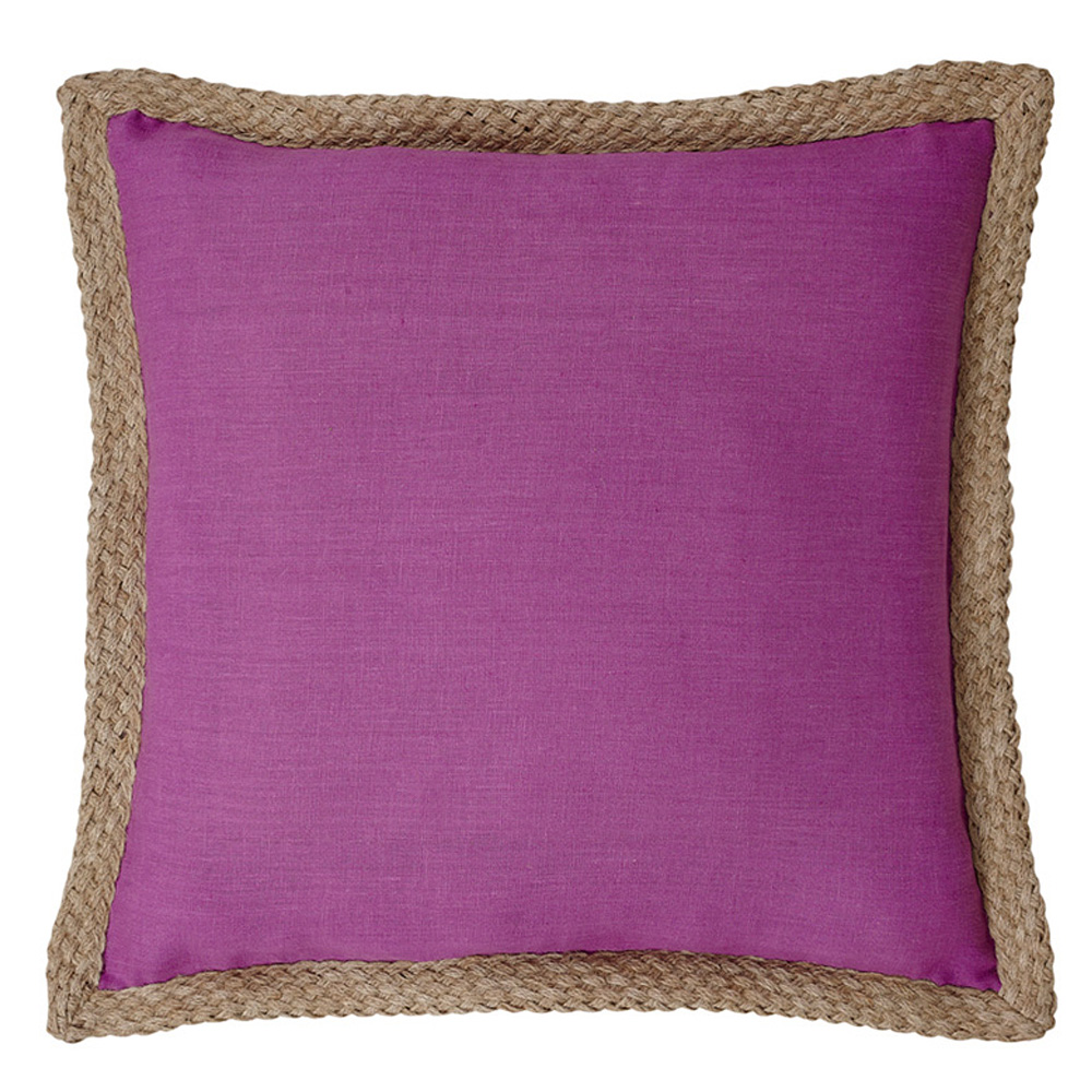 Mornington Linen Berry Cushion - 50x50cm