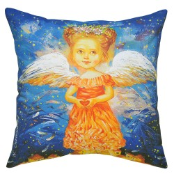 Love Wings Cushion - 40x40cm