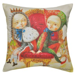Twins Cushion - 40x40cm