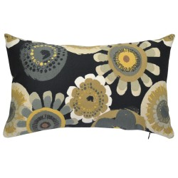 Crosby Ebony Outdoor Cushion 30x50cm