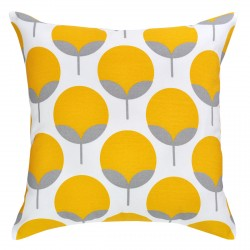 Caroline Yellow Outdoor Cushion - 45x45cm